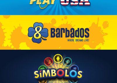 Lottery logos