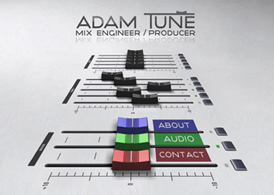 Adam Tune website