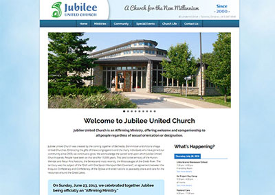 Jubilee United Church website